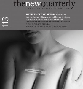 """The New Quarterly"" (TNQ #113) Winter 2010"
