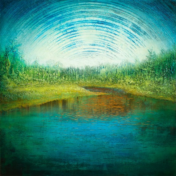 """That dam river, Rockwood."" by nik harron"